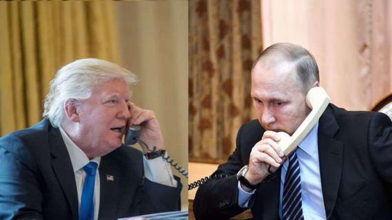 В Кремле рассказали о телефонном разговоре Путина с Трампом
