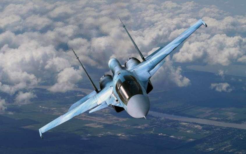 Впечатляющие кадры: Авиапарад в День Победы в небе Сирии над авиабазой «Хмеймим»