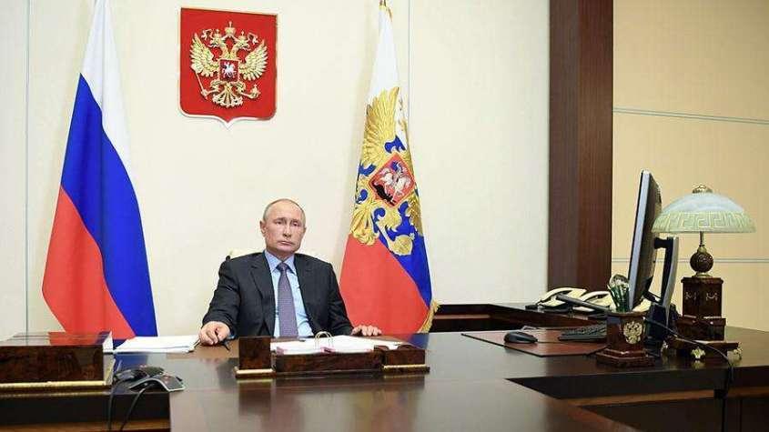 Обращение Владимира Путина к россиянам 11.05.2020