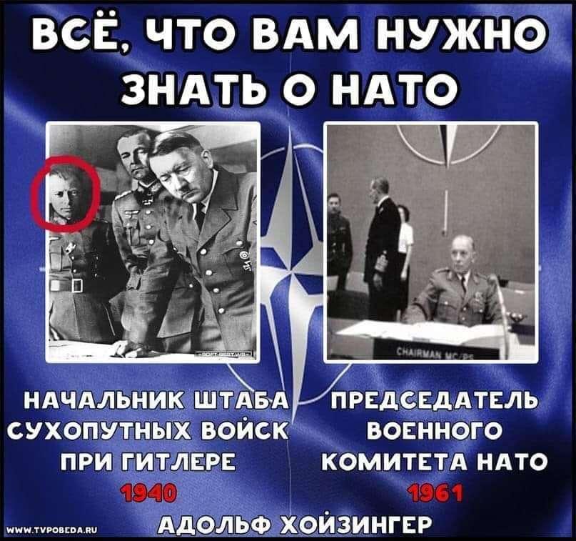 Всё, что вам нужно знать о НАТО в одной ёмкой фотографии