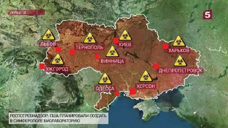 Украина и биолаборатории США. Кому принадлежат смертельные вирусы?