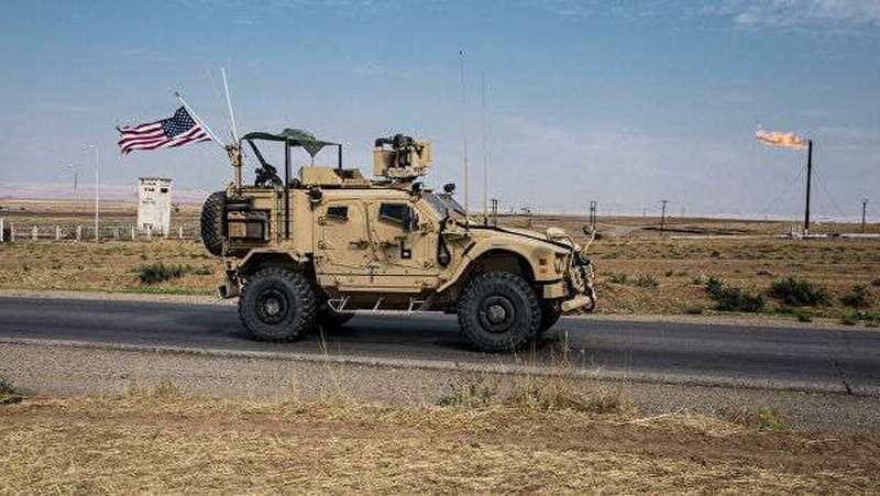 В Эль-Хасаке сирийцы заблокировали проезд военной колонны американских оккупантов