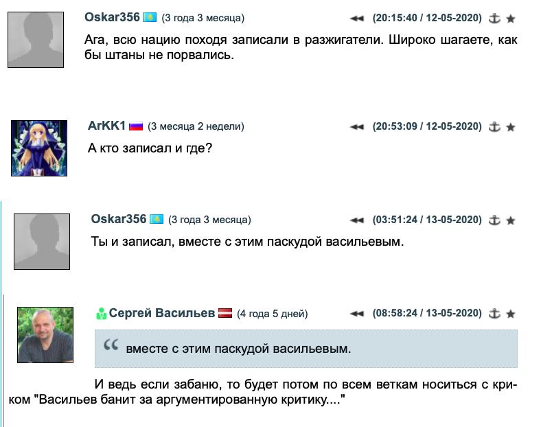 Тест на русофобию, толерантность и дружбу народов
