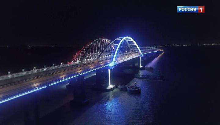 «Но водителем у них – Путин»: Крымский мост отмечает годовщину – два года с момента открытия