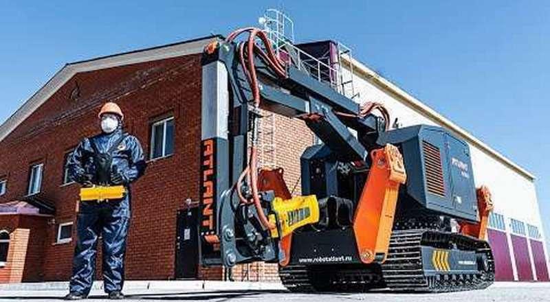 Российский робот АТЛАНТ 6000 из Перми для работ за гранью человеческих возможностей