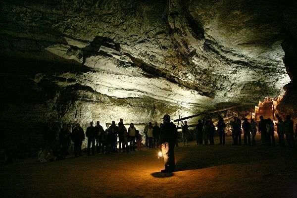 Мамонтова пещера, США