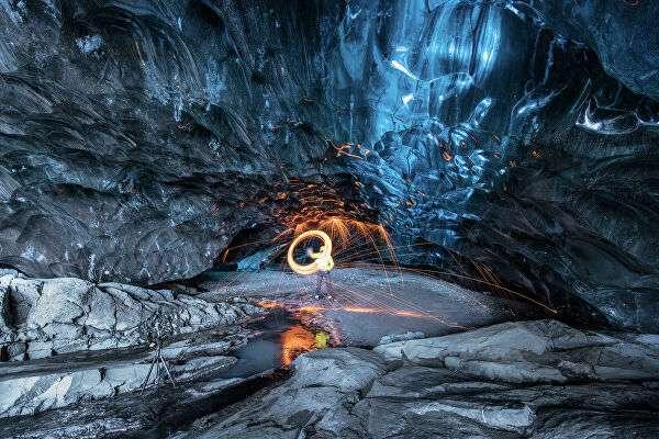 Ледяная пещера Скафтафелл, Исландия