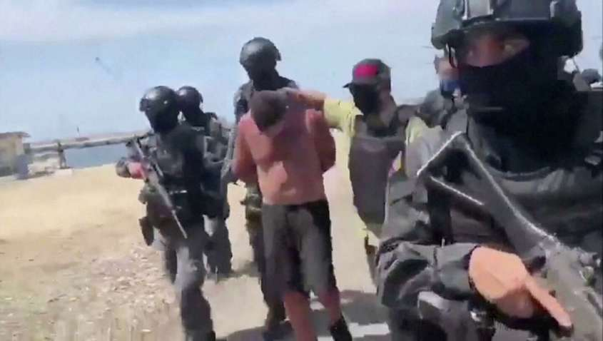 Американцы вторглись в Венесуэлу, как к себе домой
