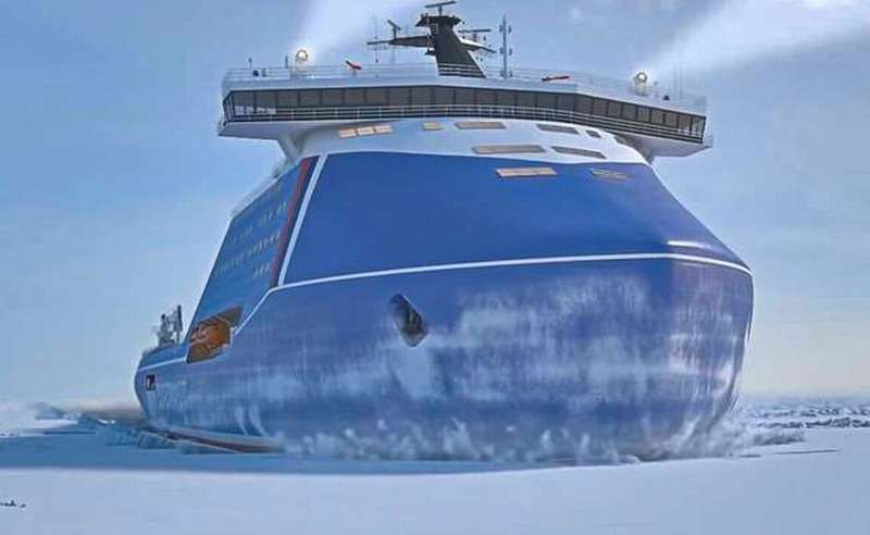 Россия приступила к созданию новых ледоколов. Как Запад на это отреагировал
