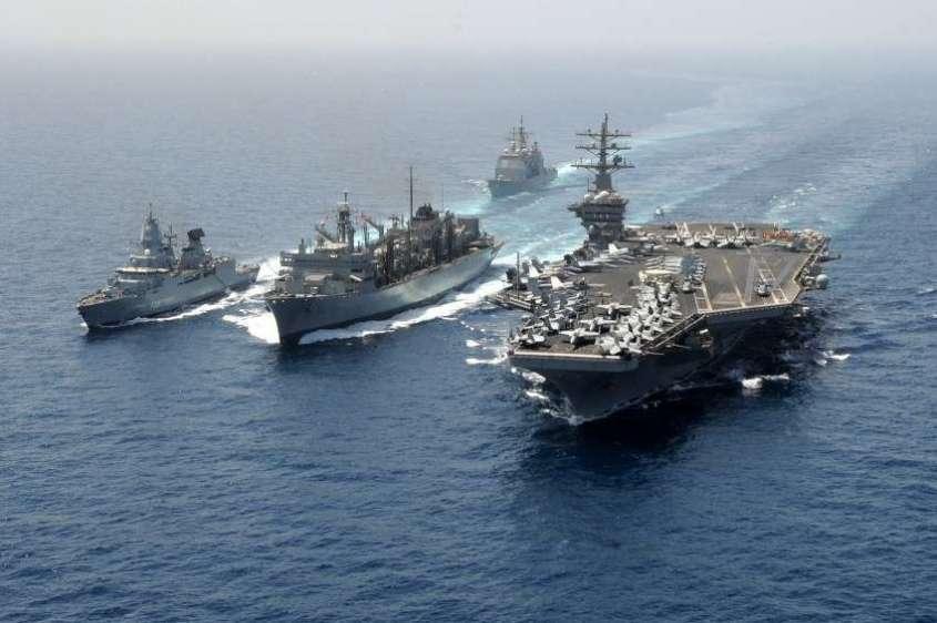 Сколько «Цирконов» потребуется чтобы потопить всю авианосную ударную группу ВМС США