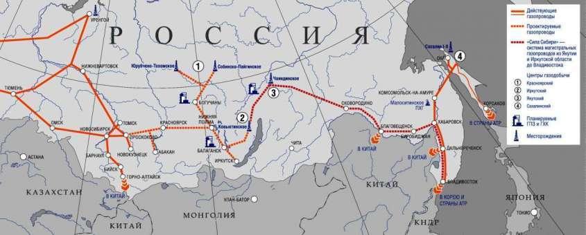 Газпром начал проектные работы по газопроводу в Китай «Сила Сибири-2»