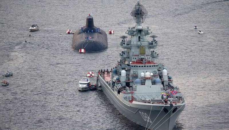 Старейший в России Балтийский флот отмечает день рождения, ему исполнилось 317 лет