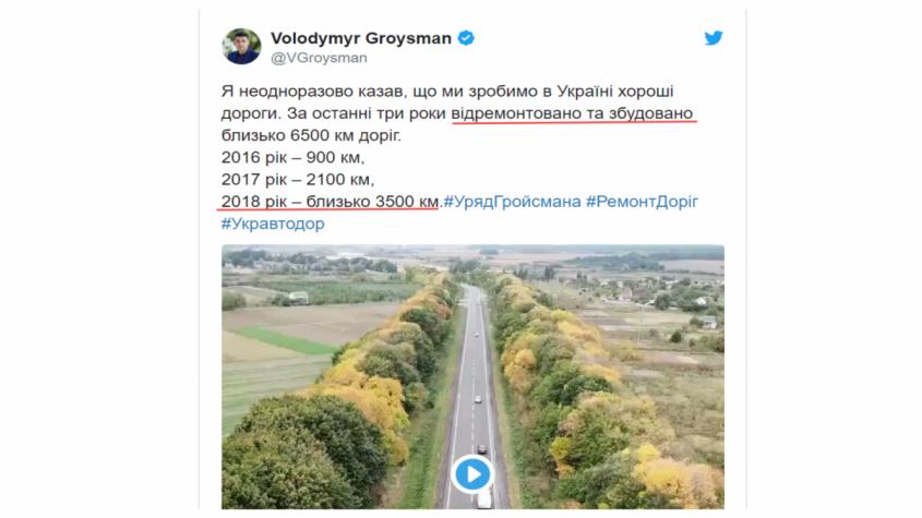 Как только Зеленский пообещал украинцам новые дороги – сразу символично рухнул мост