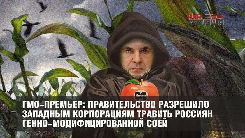 Правительство разрешило западным корпорациям травить россиян ГМО соей