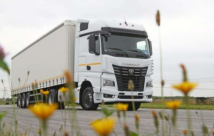«КамАЗ» начал продажи флагманской модели грузовиков нового поколения К-5 – «Камаз-54901»