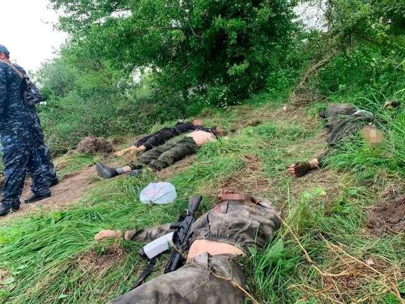 Бой с бандой в лесу Дагестана – уничтожены боевики, спецназовец ранен (ВИДЕО, ФОТО 18+) | Русская весна