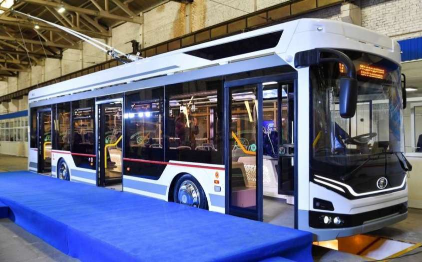 В Петербург отправилась первая партия новых троллейбусов «Адмирал»