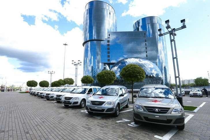 Больницы Московской области получили 36 автомобилей неотложной помощи на базе Lada Largus