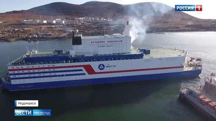 ПАТЭС «Академик Ломоносов» сможет работать в условиях вечной мерзлоты целых 40 лет