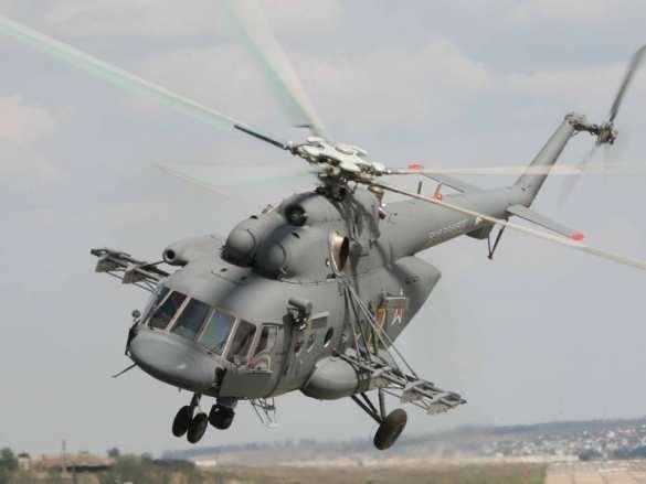 Военный вертолёт Ми-8 совершил жёсткую посадку, есть погибшие | Русская весна