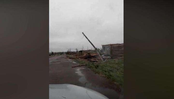 Ураган в Кемеровской области сдул целую деревню
