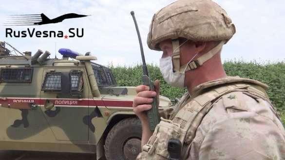 Сирия: толпа остановила патруль армии России и обратилась к военным   Русская весна