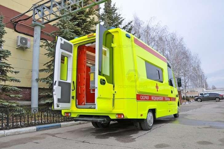 Нижегородская компания выпустила новый реанимобиль на базе ГАЗель-NEXT Citiline