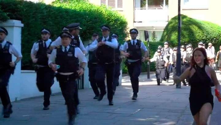 Вслед за протестами и беспорядками в США начал протестовать и Лондон