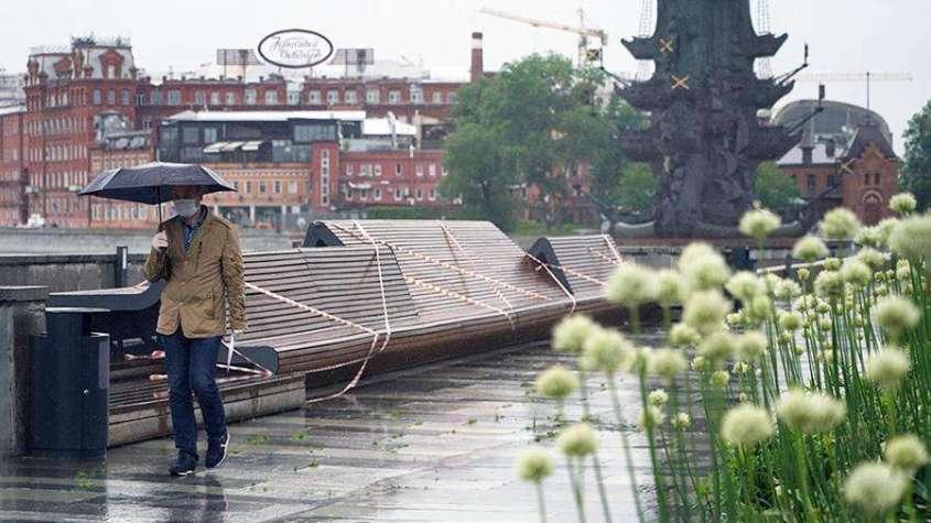 МЧС распространило экстренное предупреждение о погоде в Москве