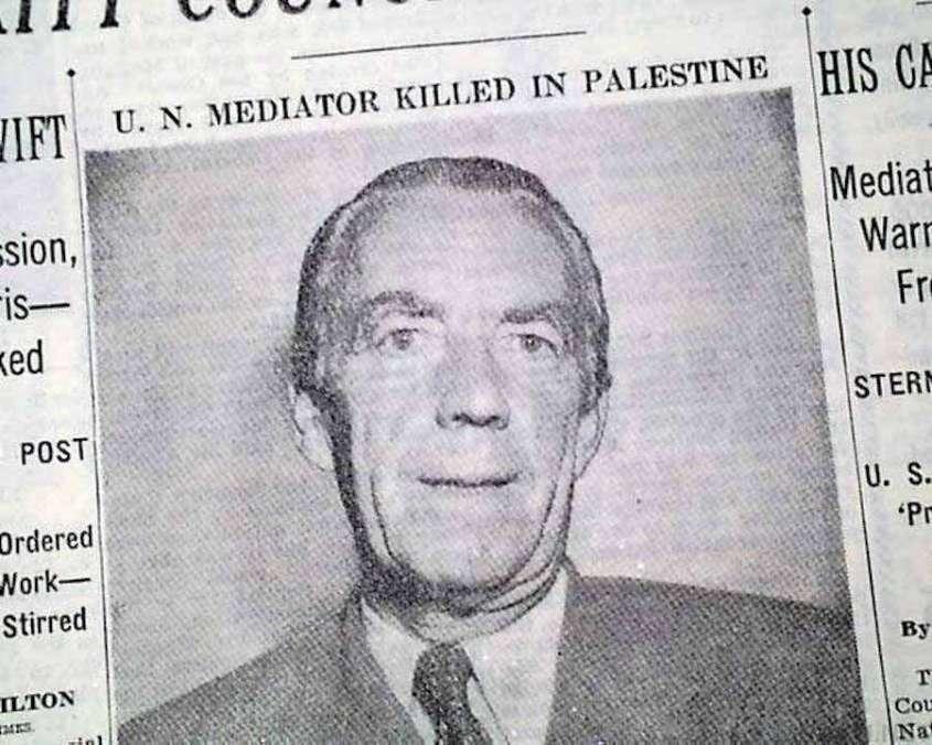 История еврейской террористической организации «Лехи», которая пыталась создать союз с нацистами