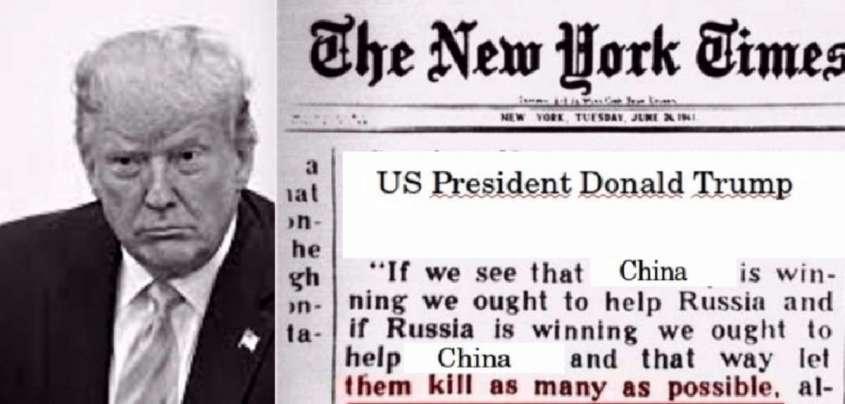 Англосаксы вновь склоняют Россию к предательству