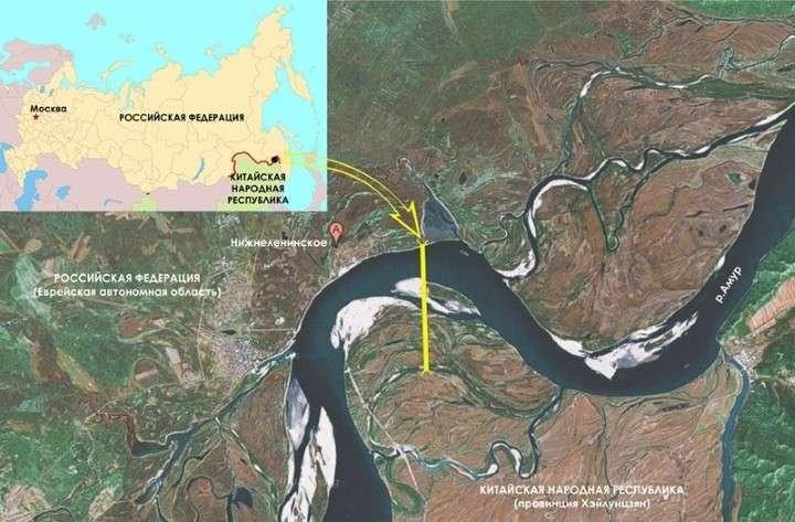 Россия и Китай купили заказчика строительства ж/д моста через Амур