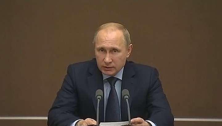 Владимир Путин: Россия никому не угрожает и не будет ввязываться в геополитические игры