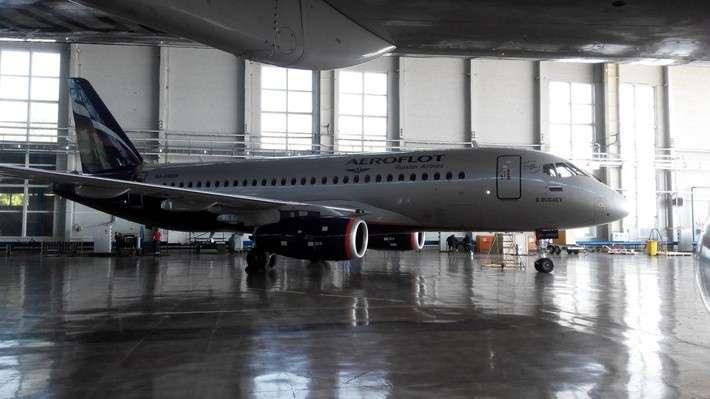 Авиакомпании «Аэрофлот» передан очередной самолёт Sukhoi Superjet 100