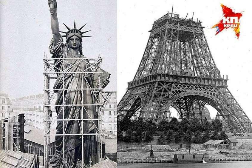 Эйфелева башня и Статуя Свободы сделаны из уральского металла