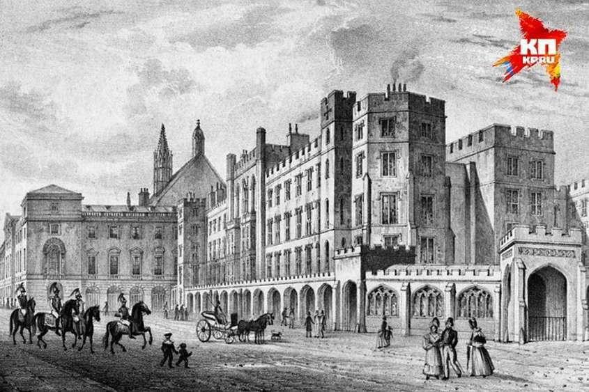Так выглядел Вестминстерский дворец в Лондоне до пожара 1834 года. После этого его крышу покрыли тагильским кровельным железом Фото: из открытых источников