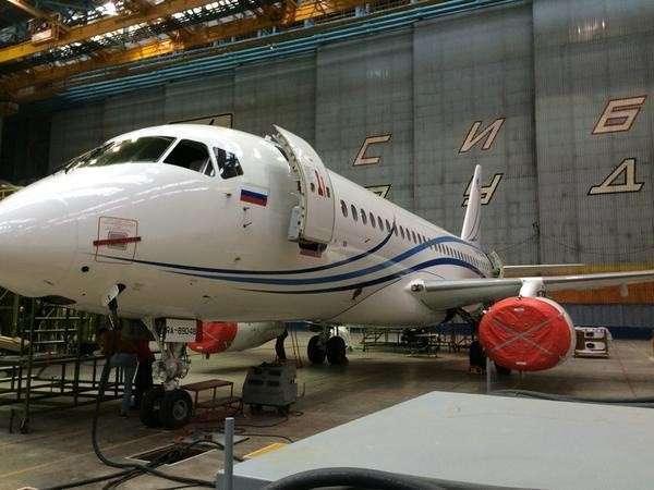Седьмой Суперджет передан авиакомпании «Газпромавиа»
