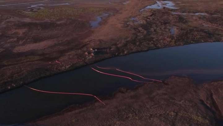 Разлив топлива в Норильске: технологии очистки воды и земли