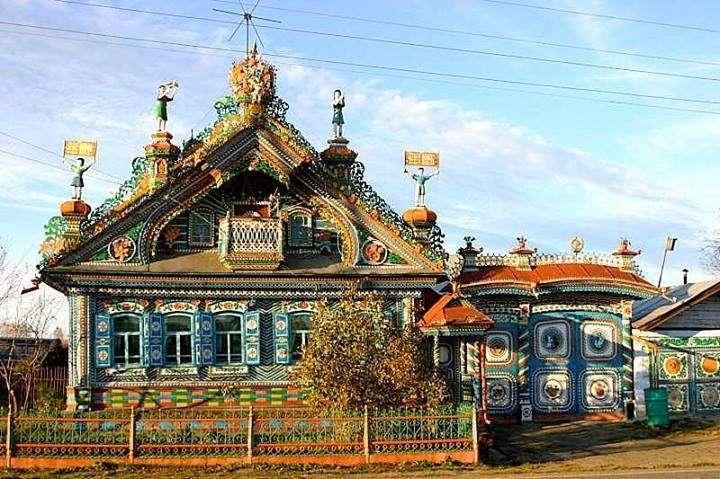 фото красивые дома в россии
