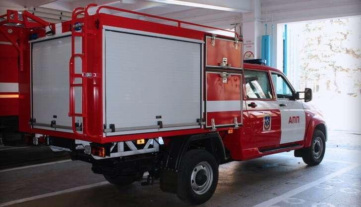 Компании УАЗ и АвтоЛИК начали совместное производство нового пожарного автомобиля