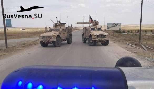 Сирия. Американские военные позорно провалили попытку дерзко объехать русский патруль   Русская весна