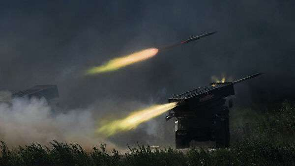 Боевые машины РСЗО Торнадо-Г