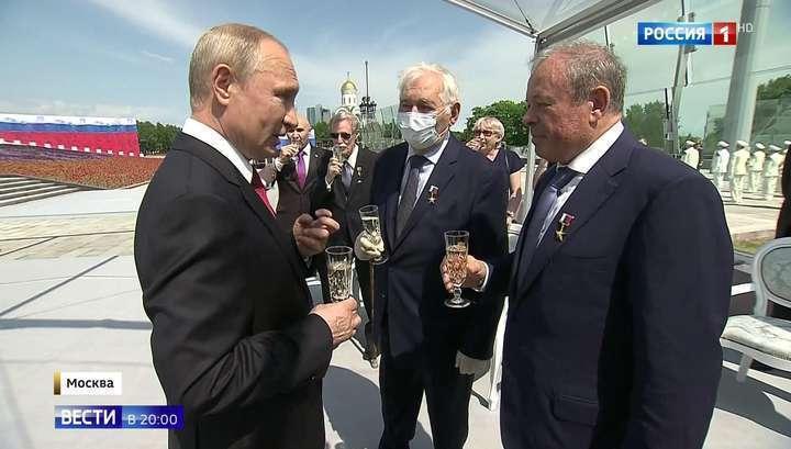 Владимир Путин наградил тех, на ком держится страна
