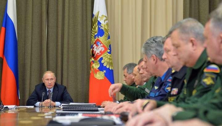Владимир Путин: гособоронзаказ-2014 практически выполнен