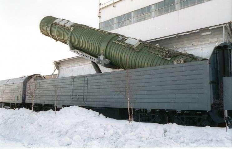 Боевые железнодорожные ракетные комплексы появятся в РВСН в 2019 году