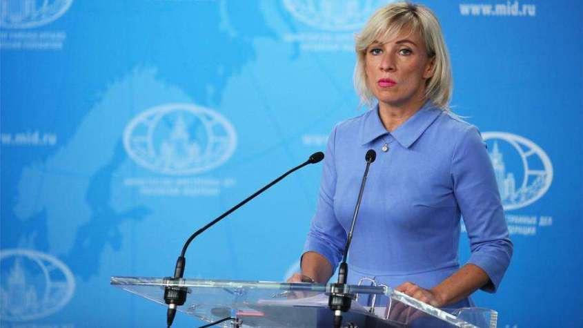 Мария Захарова ответила главе МИД Украины о российских паспортах, выдаваемых жителям Донбасса