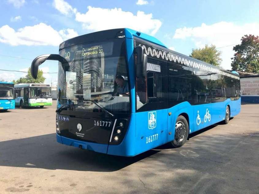 Москва получила от «КАМАЗа» очередную сотню электробусов
