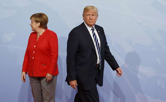 Der Tagesspiegel (Германия): торговый конфликт, «Северный поток», таможенные пошлины на автомобили – вот чем Трамп грозит экономике Германии