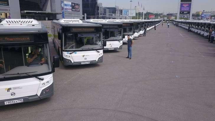В «Мострансавто» передано более 660 новых автобусов