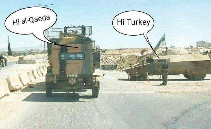Сирия: Армия России и САА против войск Турции и банд террористов